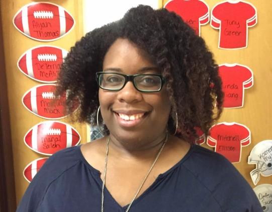 Mrs. Davis, our THIRD Grateful Teacher Winner