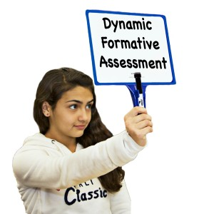 Dynamic formative assessment