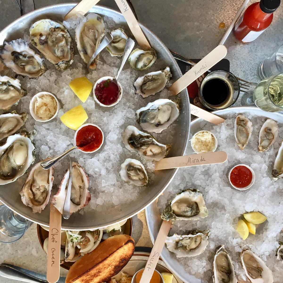 Tell Everyone Raw Bar by Slapfish in Huntington Beach Is the Best Place to Eat Oysters for Not Much Clams